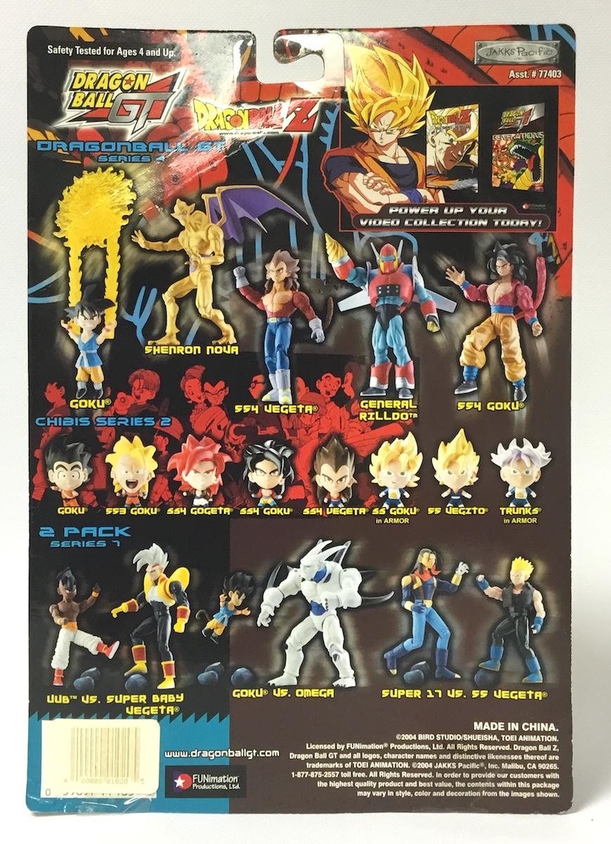 """Dragon Ball GT Action Figure Goku 5/"""" Series 4"""