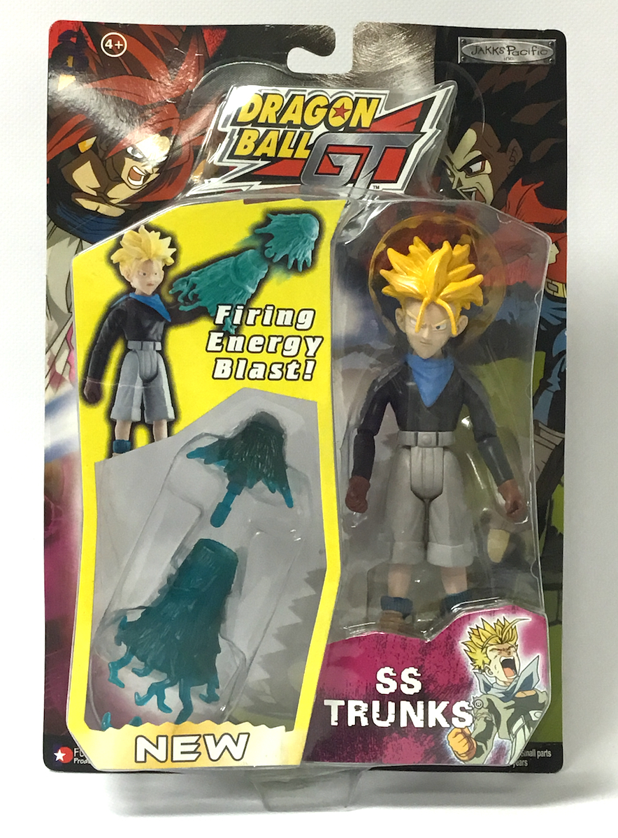 Super Saiyan Trunks Dragon Ball GT Figure Series 3 400000010212