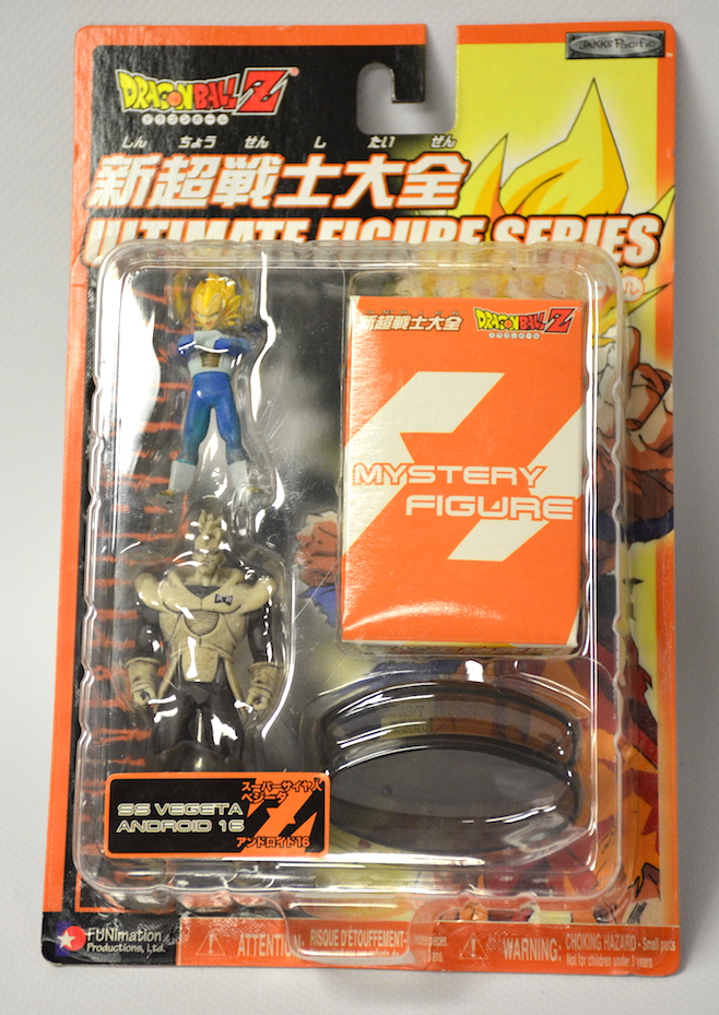 Dragon Ball Z Figure: SS Vegeta/B&W Android 16/Mystery Figure 400000010281
