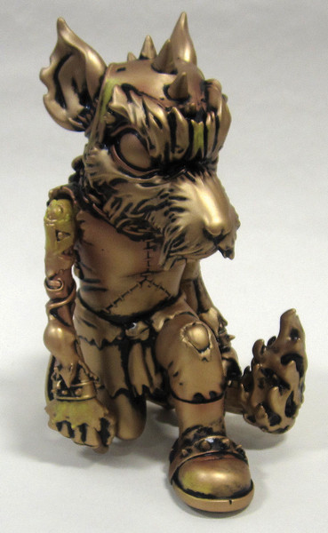 Rad Battle Rat Figure Color Way I (Gold/Black)