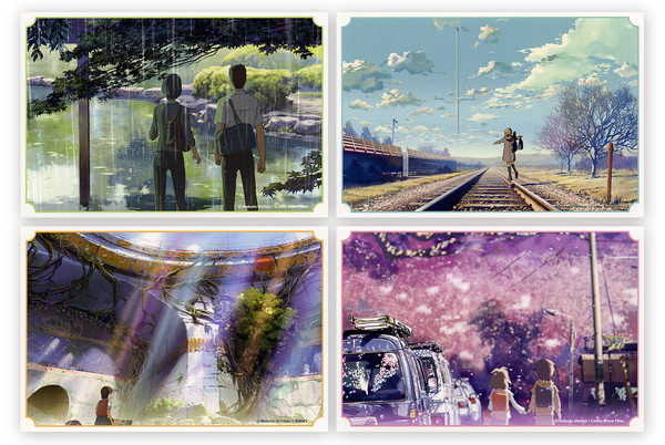 Makoto Shinkai Titles Postcards Set (Import)