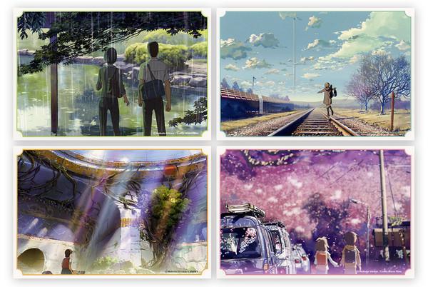 Makoto Shinkai Titles Postcards Set (Import)