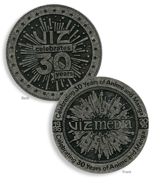 VIZ 30th Anniversary Coin