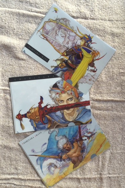 Final Fantasy Clear File Set (Import)