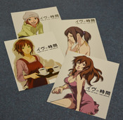 Time of Eve Art Cards
