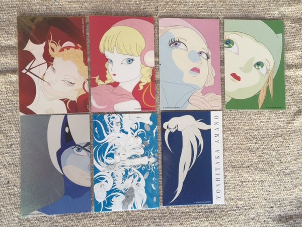 Yoshitaka Amano Post Card Set (Import)