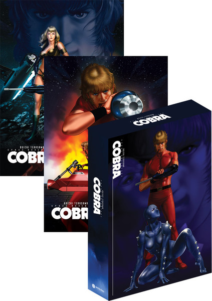 Space Adventure Cobra The Original TV Series Complete Set DVD