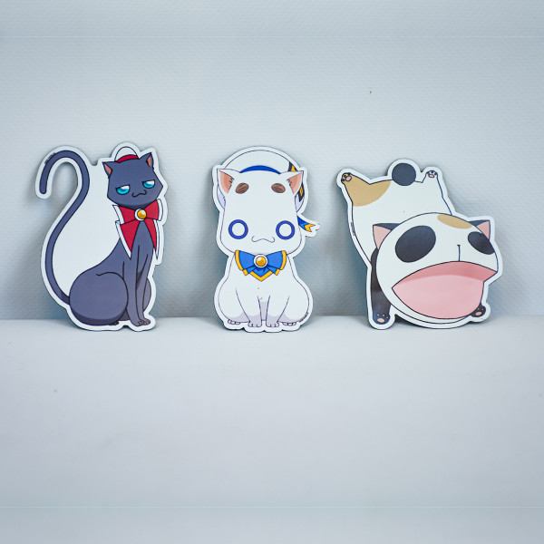 Aria Kickstarter Mascot Magnet Set