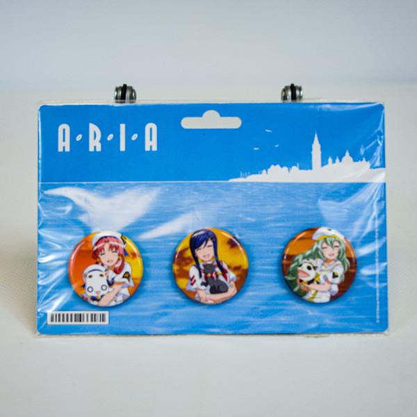Aria Kickstarter Triple Backer Bonus Button Set