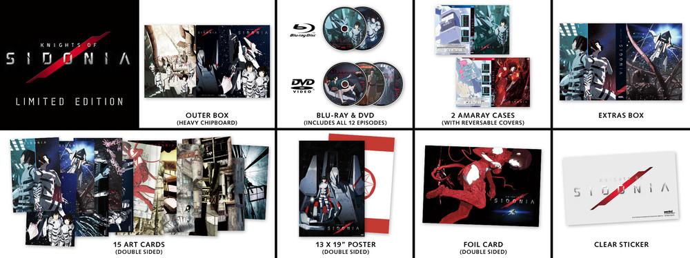 Knights Of Sidonia Season 1 Collector's Edition Blu-Ray/DVD