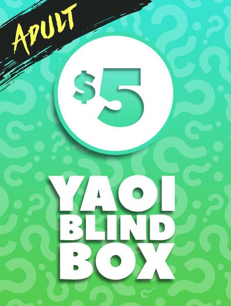 $5 Adult Yaoi Manga Blind Box