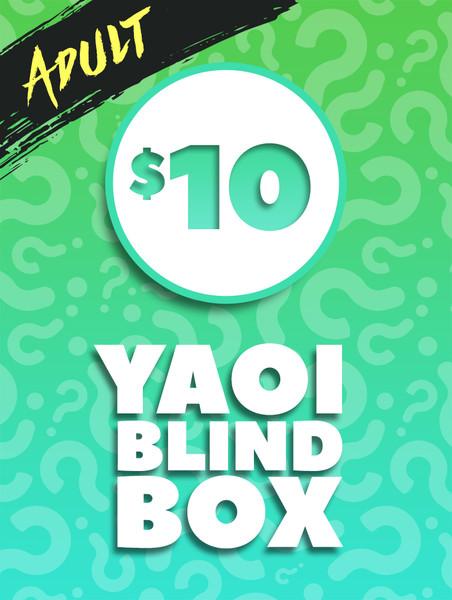 $10 Adult Yaoi Manga Blind Box