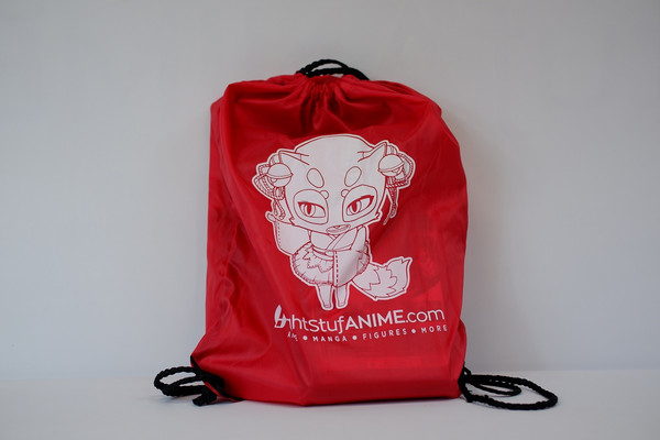 Ritsu Right Stuf Anime Mascot Drawstring Bag