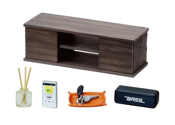 Complete Men's Room Miniature Figure Set