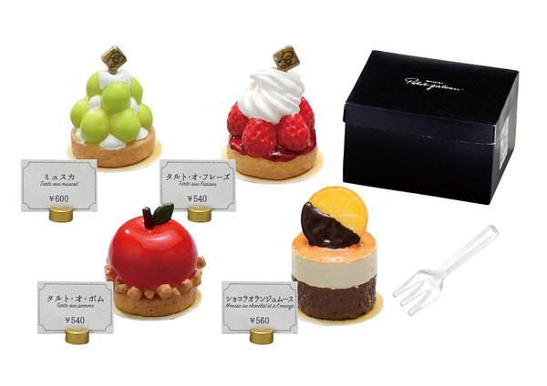 Complete Patisserie Petit gateau Miniature Figure Set