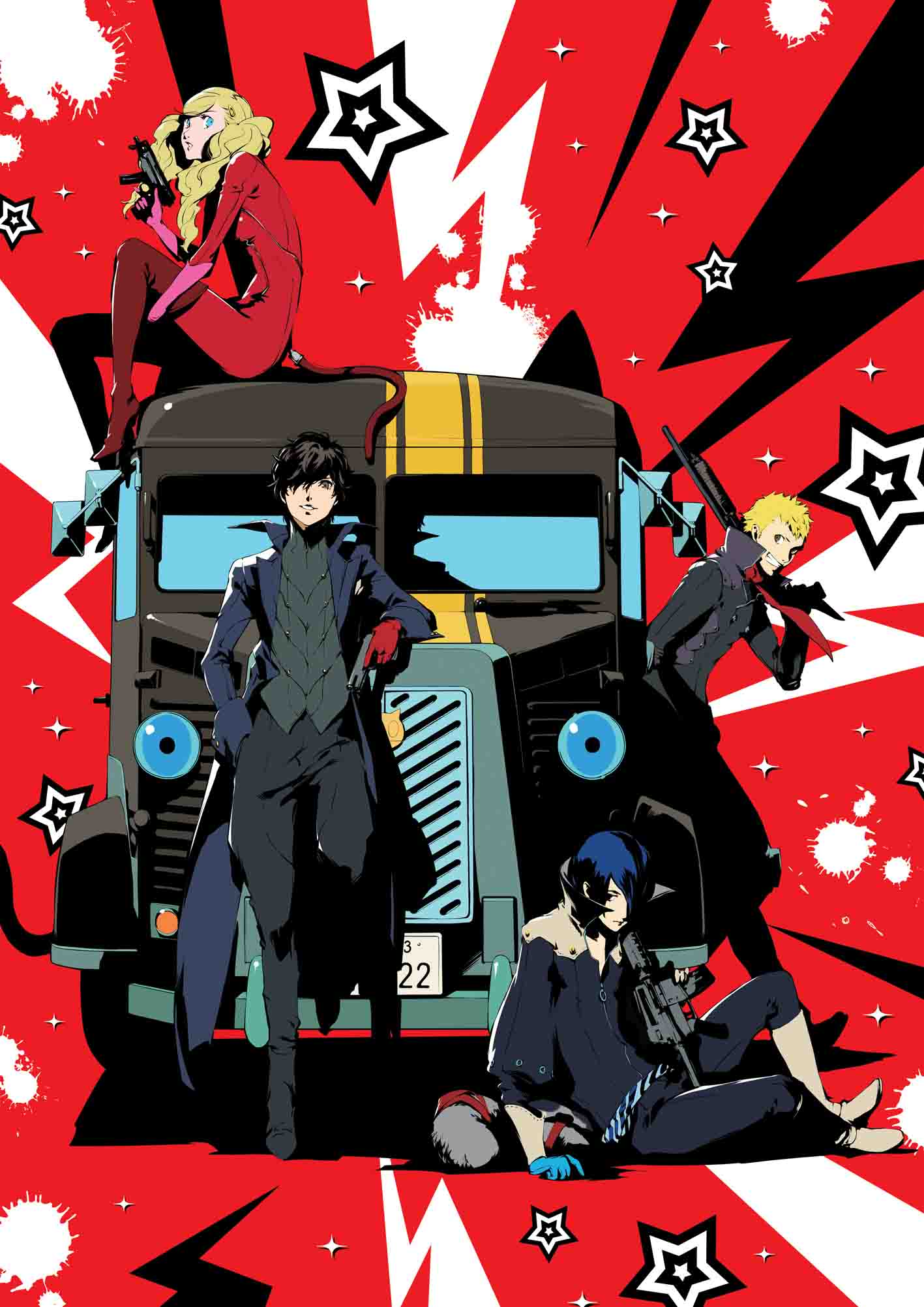 PERSONA5 the Animation -THE DAY BREAKERS-  Blu-ray (Import) 4534530095992