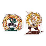 Tanjiro & Kyojuro Demon Slayer Acrylic Standee Set