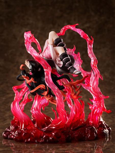 Nezuko Kamado Exploding Blood Ver Demon Slayer Figure