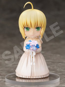 Saber 10th Anniversary Royal Dress ver Fate/stay night CHARA FORME PLUS Figure