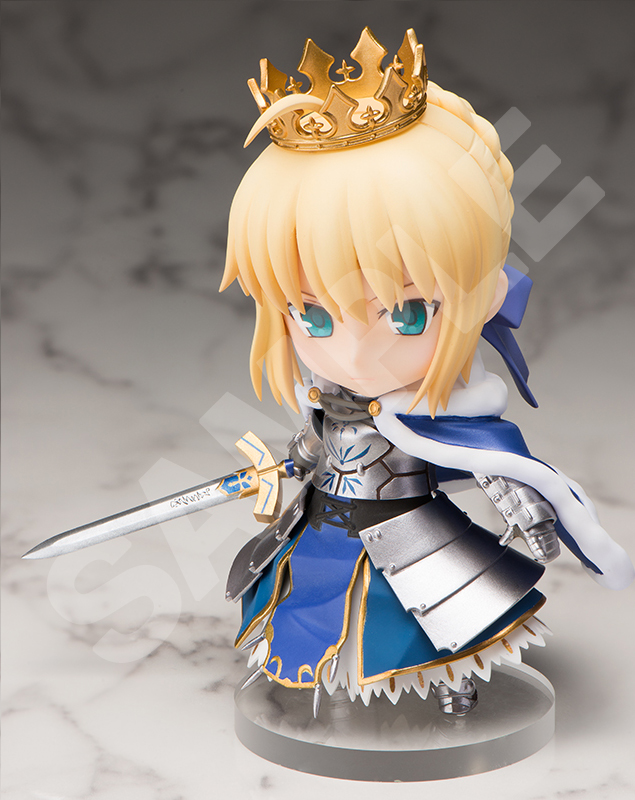 Saber Fate/Grand Order CHARA FORME PLUS Figure
