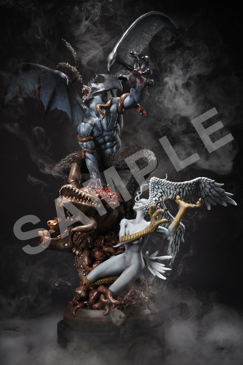 DEVILMAN crybaby (Re-Run) Real Color ver Statue