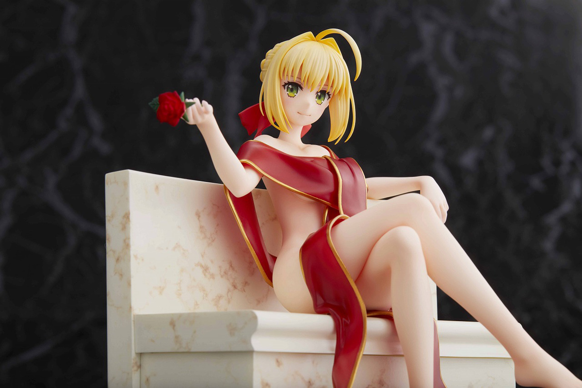 Saber Bathrobe Ver Fate/Extra Last Encore Figure