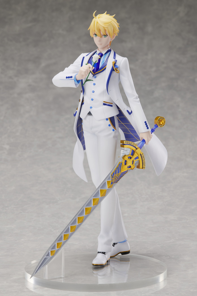 Saber/Arthur Pendragon Fate/Grand Order White Rose Ver Figure