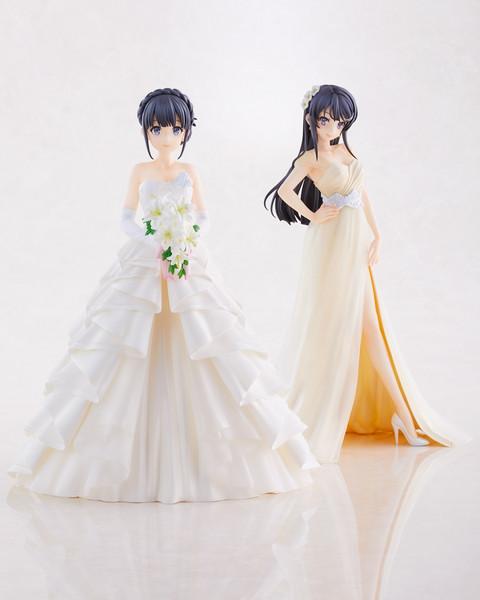 Shoko Makinohara Wedding Ver Rascal Does Not Dream of a Dreaming Girl Figure