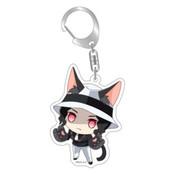 Demon Slayer: Muzan Kitty Keychain