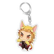 Demon Slayer: Kyojuro Rengoku Kitty Keychain