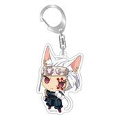 Demon Slayer: Tengen Uzui Kitty Keychain