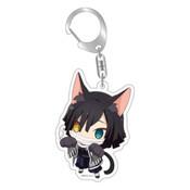 Demon Slayer: Obanai Iguro Kitty Keychain