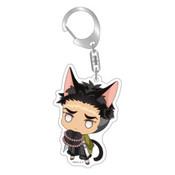 Demon Slayer: Gyomei Himejima Kitty Keychain