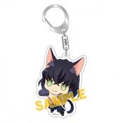 Inosuke Demon Slayer Kitty Keychain