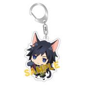 Giyu Demon Slayer Kitty Keychain