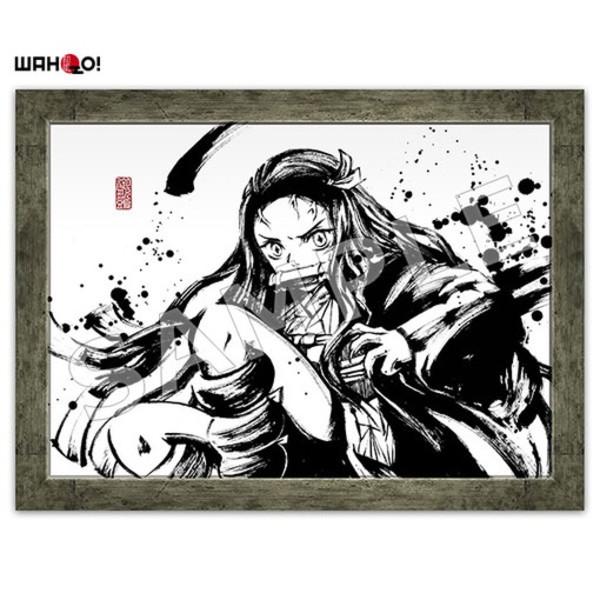 Nezuko Demon Slayer Ink Art