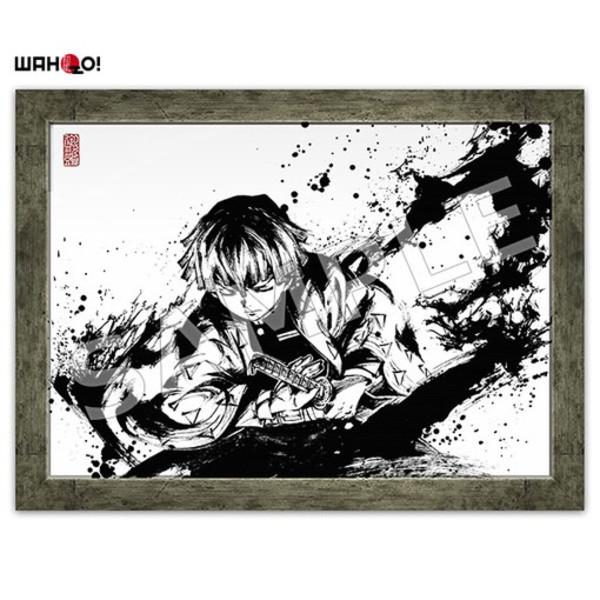 Zenitsu Demon Slayer Ink Art