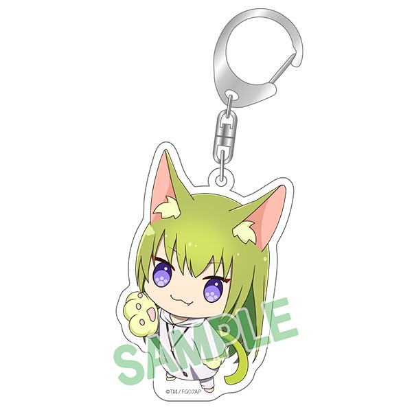 Enkidu Kitty Fate/Grand Order Absolute Demonic Front: Babylonia Keychain