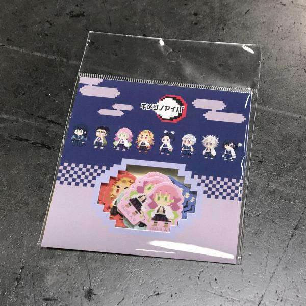 Demon Slayer Pixelated Character Sticker Set Volume 2