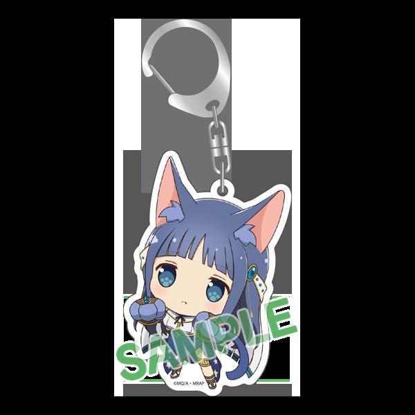Yachiyo Nanami Kitty Magia Record Keychain
