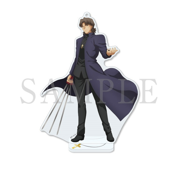 Kirei Kotomine Fate/stay night [Heaven's Feel] V.spring song Acrylic Mascot