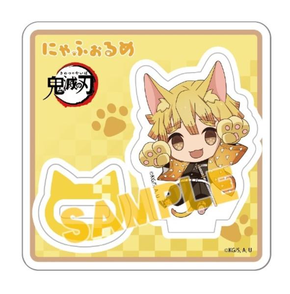 Zenitsu Kitty Ver Demon Slayer Acrylic Standee