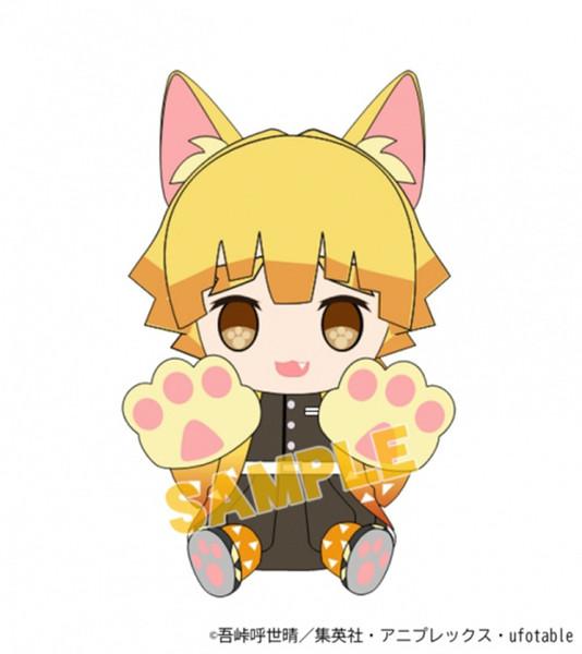 Zenitsu Demon Slayer Kimetsu no Yaiba Kitty Plush