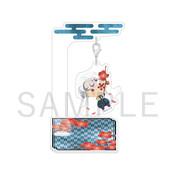 Demon Slayer: Kimetsu no Yaiba-Yurafuwa Acrylic Mascot Tengen Uzui Flower ver.