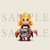 Kyojuro Demon Slayer Charm Figure
