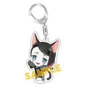 Demon Slayer: Enmu Kitty Keychain