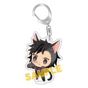 Demon Slayer: Genya Kitty Keychain