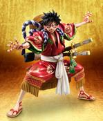 Kabuki Luffy Portrait Of Pirates One Piece Excellent Model Figure