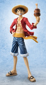 Luffy 20th Anniversary Ver Portrait of Pirates Limited Edition One Piece Figure