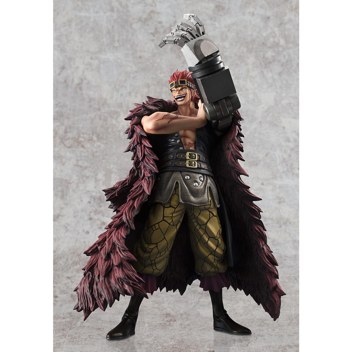 Captain Kid Portrait of Pirates Limited Edition One Piece Figure